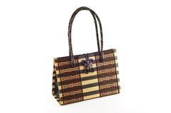 Bolsa Handmade da mulher. Fotografia de Stock Royalty Free