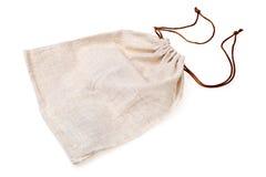 Bolsa vacía de la arpillera Fotografía de archivo libre de regalías