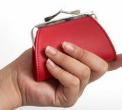 Bolsa vermelha Imagem de Stock