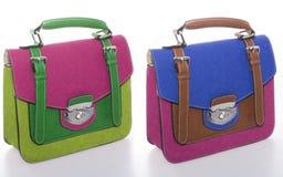 Bolsas coloridas fotografia de stock royalty free