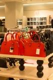 Bolsas coloridas como presentes do ano novo Foto de Stock