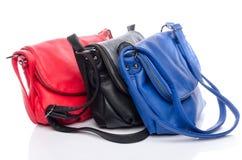 Bolsas coloridas diferentes Fotos de Stock Royalty Free