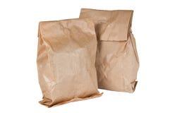 Bolsas de papel de té Fotos de archivo libres de regalías