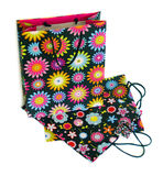 Bolsas de papel para las compras Fotos de archivo libres de regalías