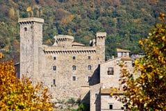 Bolsena城堡在意大利 库存照片