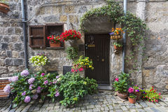Bolsena (Italien) Arkivbild