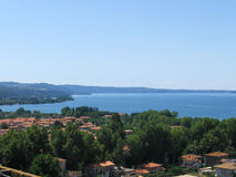 Bolsena lake italy Royalty Free Stock Images