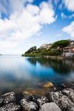 Bolsena lake - View from Capodimonte Stock Photos