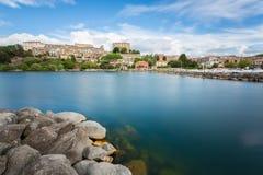 Bolsena lake - View from Capodimonte Stock Image