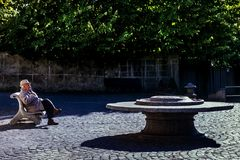 Bolsena Lazio, W?ochy, - fotografia stock