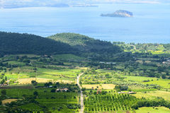 Bolsena See von Montefiascone Lizenzfreie Stockbilder