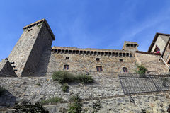 Bolsena (Viterbo, Lazio, Italy): the medieval castle Stock Images