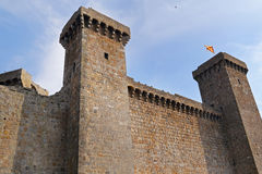 Bolsena (Viterbo, Lazio, Italy): the medieval castle Stock Photos