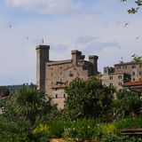 Bolsena (Viterbo, Lazio, Italy): the medieval castle Stock Photo