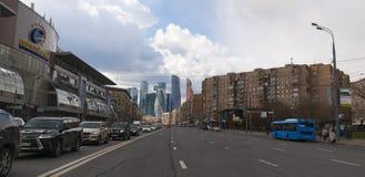 Bolshaya Dorogomilovskaya,莫斯科,俄国联邦城市,俄罗斯联邦,俄罗斯 库存照片