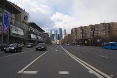Bolshaya Dorogomilovskaya, Μόσχα, ρωσική ομοσπονδιακή πόλη, Ρωσική Ομοσπονδία, Ρωσία Στοκ εικόνα με δικαίωμα ελεύθερης χρήσης