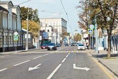 Bolshaya Ordynka街道在莫斯科 库存照片