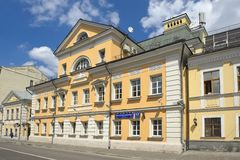 Bolshaya Polyanka street Stock Photography