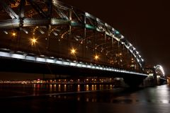 bolsheokhtinsky bro Arkivbild