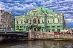 The Bolshoi Drama Theater named after GA Tovstonogov. Russia, Saint-Petersburg, 23,09,2017 The Bolshoi Drama Theater named after GA Tovstonogov Royalty Free Stock Images