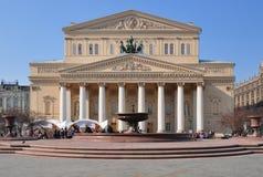 Bolshoi teater, Moskva royaltyfria foton