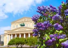 Bolshoi Theater Stockbilder