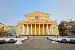 Bolshoi Theater Stockfoto