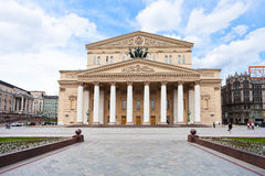 Bolshoi Theater building in Moscow, Russia Stock Images