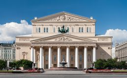 Bolshoi Theater Royalty Free Stock Images