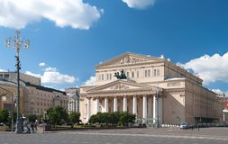 Bolshoi Theater Stock Photo