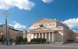 Bolshoi Theater Stock Photo
