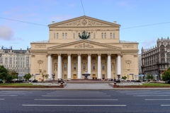 Bolshoi Theatre in the autumn, Moscow, Russia Stock Images