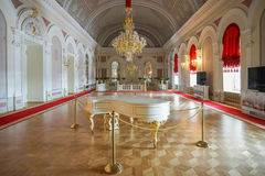He Bolshoi Theatre a historic theatre of ballet and opera in Moscow, Russia stock photography