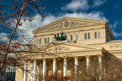 Bolshoi Theatre. In Moscow, Russia Royalty Free Stock Photography