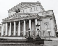 Bolshoi theatre in Moscow, Russia Stock Photo