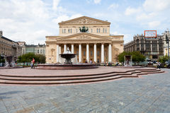 Bolshoi Theatre of Moscow Royalty Free Stock Image