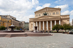 Bolshoi Theatre of Moscow Royalty Free Stock Images