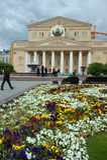 Bolshoitheater, Moskou, Rusland royalty-vrije stock afbeeldingen