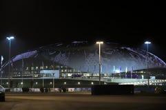 Bolshoy-Eis-Haubennachtansicht, Sochi, Adler, Russland Stockfoto