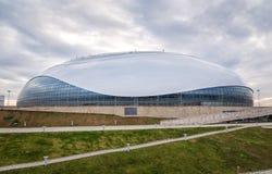 Bolshoy Ice Dome. Olympic Park in Sochi, Russia Stock Photos
