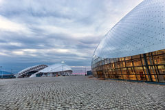 Bolshoy Ice Dome. Olympic Park in Sochi, Russia Stock Images