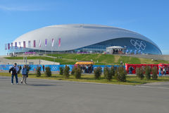 Bolshoy Ice Dome in Sochi Stock Photo