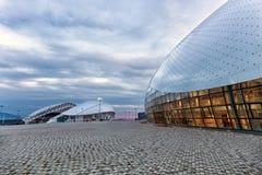 Bolshoy lodu kopuła Olimpijski park w Sochi, Rosja Obrazy Stock