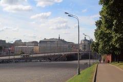 Bolshoy Moskvoretsky Bridge Stock Image
