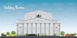 Bolshoy Theatre in Moscow Royalty Free Stock Photo