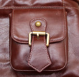 Bolsillo de cuero Fotos de archivo