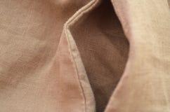 Bolsillo de lino en los pantalones, cierre para arriba Foto de archivo