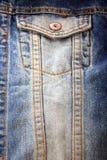 Bolsillo de los pantalones vaqueros Fotografía de archivo