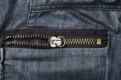 Bolsillo de pantalones trasero Foto de archivo