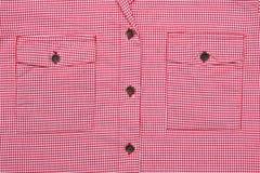 Bolsillos de la blusa Imagen de archivo libre de regalías